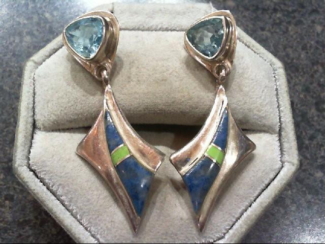 Silver Earrings 925 Silver 9.1g