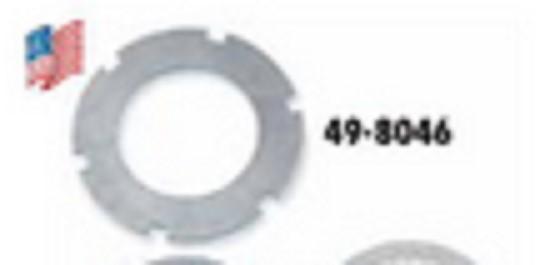 BIKER'S CHOICE 498046, #37975-41;  STEEL DRIVE PLATE-BT-USA