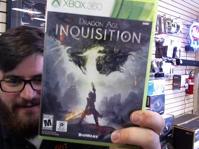 Microsoft XBOX 360 DRAGON AGE INQUISITION XBOX 360
