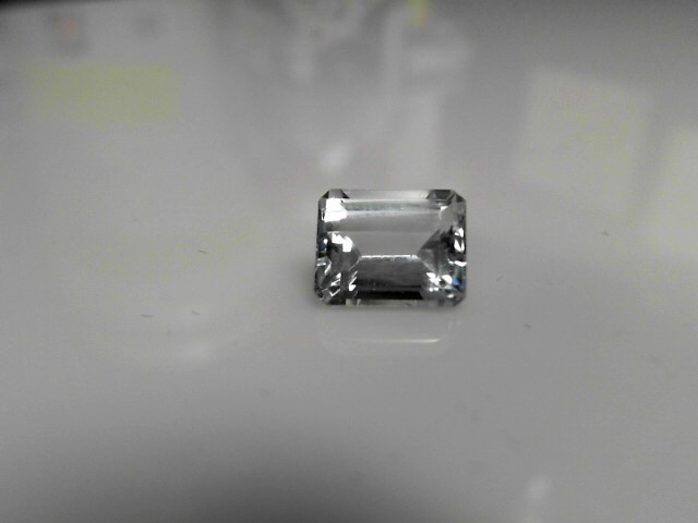 4.70cts Blue Zircon Emerald Cut