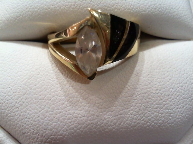 Lady's Gold Ring 14K Yellow Gold 7.4g