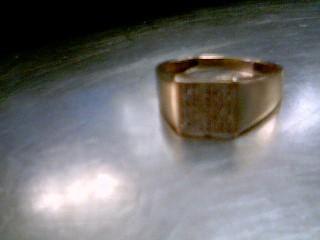 Lady's Diamond Cluster Ring 64 Diamonds .064 Carat T.W. 10K Yellow Gold 3.1g