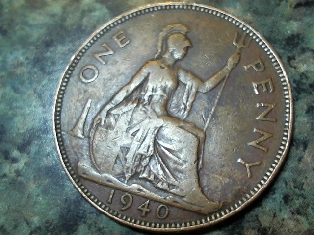 KING GEORGE PENNY