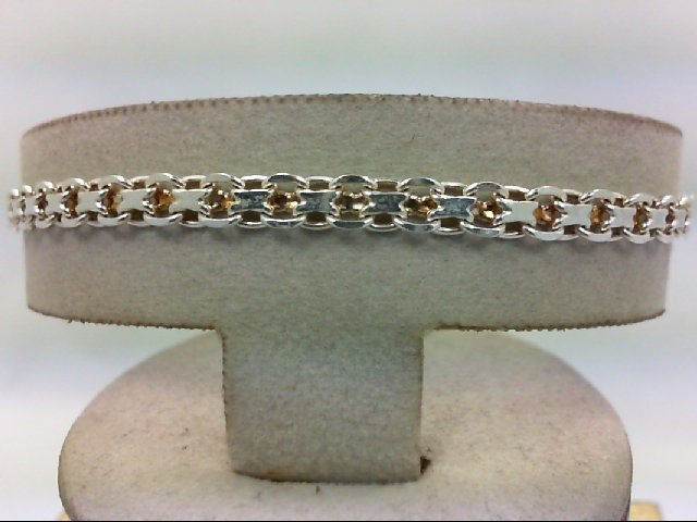 Silver Bracelet 900 Silver 6.1g