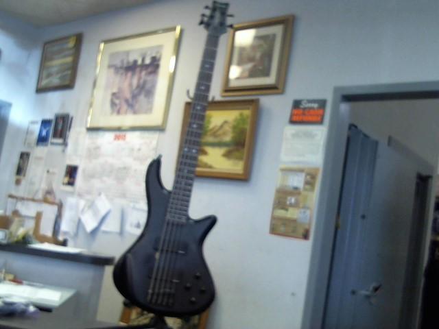 SCHECTER Bass Guitar DIAMOND SERIES CUSTOM 5 BASS