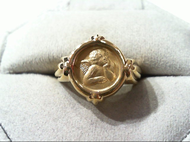 Lady's Gold Ring 14K Yellow Gold 5.8g