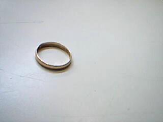 Lady's Gold Wedding Band 14K Yellow Gold 1.8g