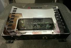 KOIILER Car Amplifier XM