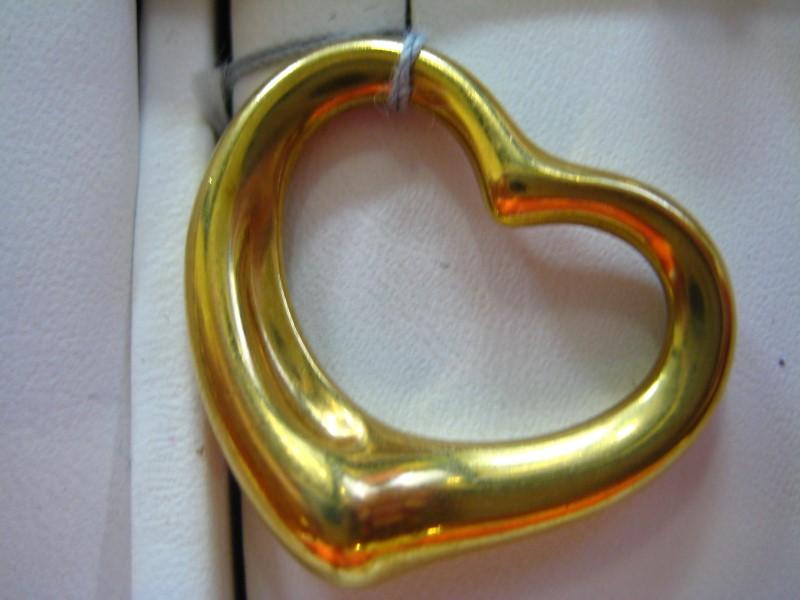 Tiffany & Co. Gold Pendant 18K Yellow Gold 7.7g