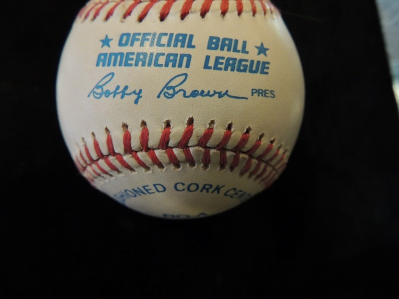Yogi Berra Signed/Autographed Rawlings Official American League Baseball
