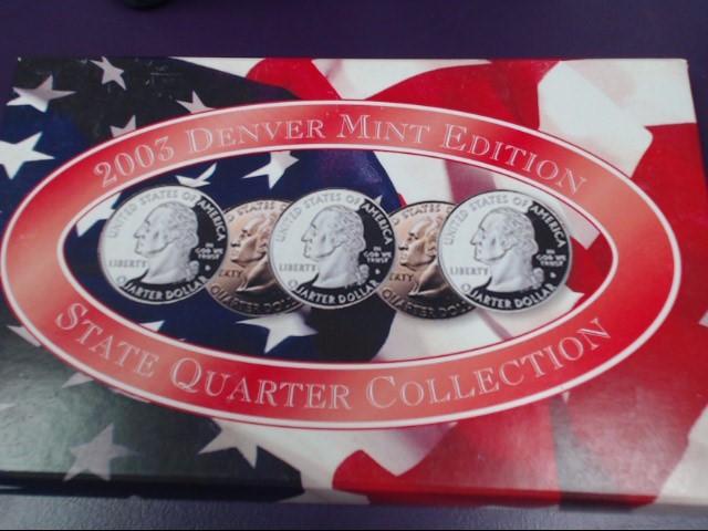 2003 DENVER MINT EDITION STATE QUARTER COLLECTION