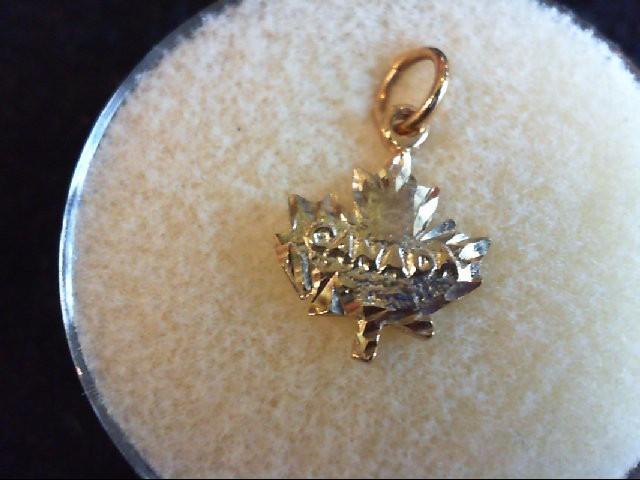 Gold Charm 10K Yellow Gold 0.7g