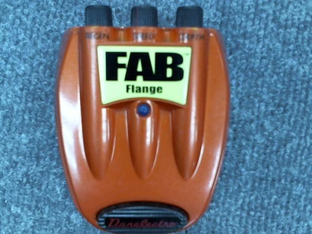 DANELECTRO Effect Equipment FAB FLANGE