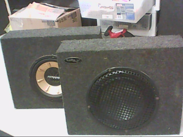MISMATCH SET 10 10 INCH SUBS IN BOX