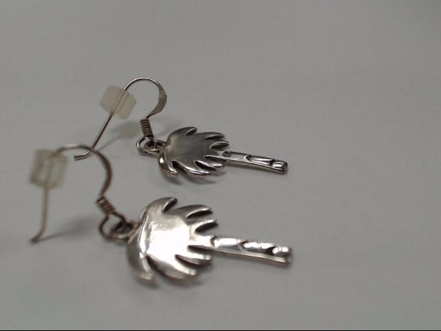 Silver Earrings 925 Silver 3.84g