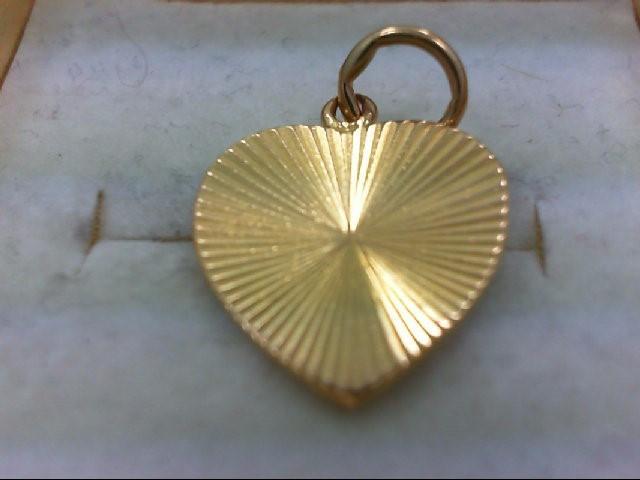 Gold Pendant 21K Yellow Gold 2.6g