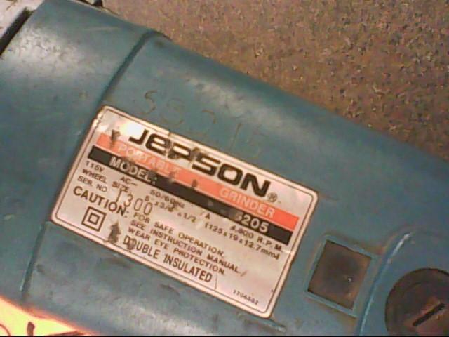 JEPSON Disc Grinder 5205