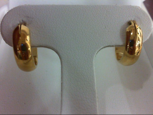 Gold Earrings 10K Yellow Gold 3.3g