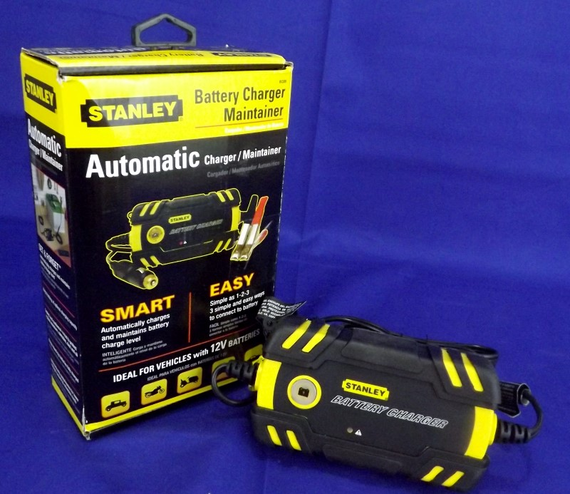 STANLEY BC209 BATTERY CAHRGER MAINTAINER