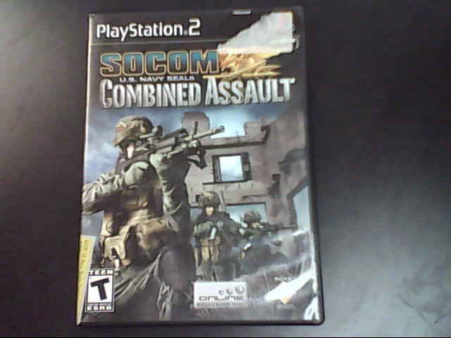 SONY Sony PlayStation 2 Game SOCOM COMBINED ASSAULT