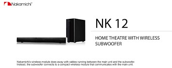 NAKAMICHI Home Theatre Misc. Equipment NK 12