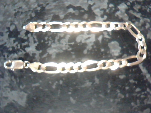Gold Link Bracelet 10K Yellow Gold 8.2dwt