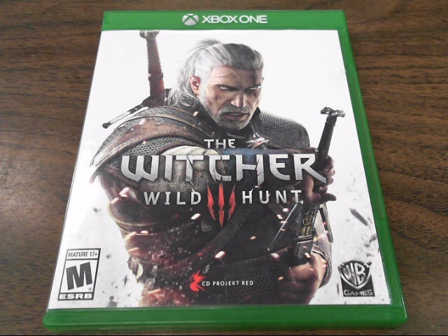 MICROSOFT Microsoft XBOX Game X BOX ONE THE WITCHER WILD HUNT