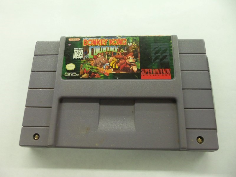 "SNES DONKEY KONG COUNTRY ""GAME ONLY"""