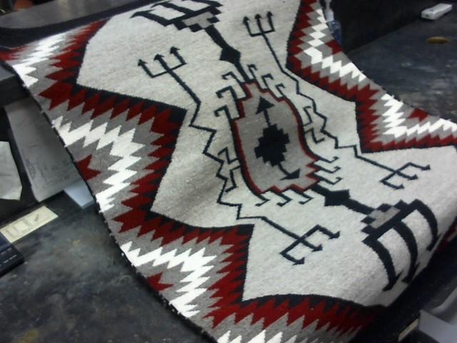 American Indian Blanket/Rug WEAVING