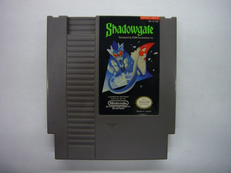NINTENDO NES Game SHADOWGATE *CARTRIDGE ONLY*