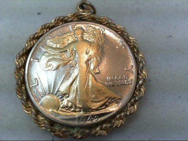 Silver Pendant 925 Silver 19.6g