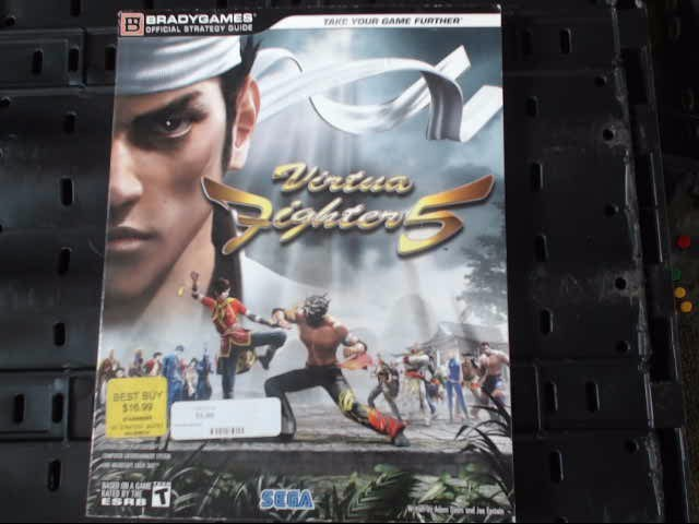 VIRTUA FIGHTER 5 GAME GUIDE