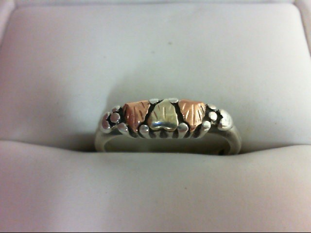 Lady's Silver Ring 925 Silver 2g Size:5.5