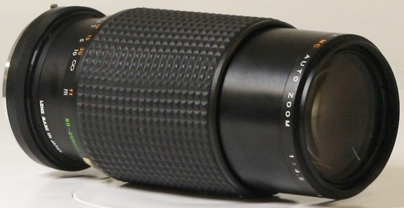 VIVITAR 80-200MM FOCAL MC AUTO ZOOM 1:4.5 MACRO NO.8253457 FOR OLD STYLE MINOLTA