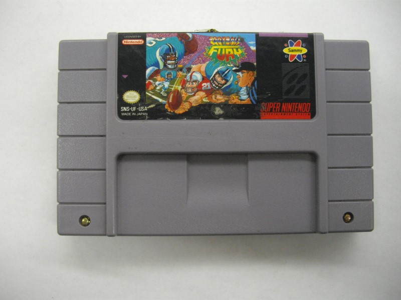 NINTENDO SNES Game FOOTBALL FURY *CARTRIDGE ONLY*