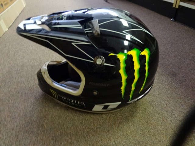 ONE INDUSTRIES Motorcycle Helmet KOMBAT RIDING Monster Energy Adult MD 57-58