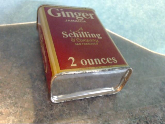 ANTIQUE SHILLING GINGER TIN