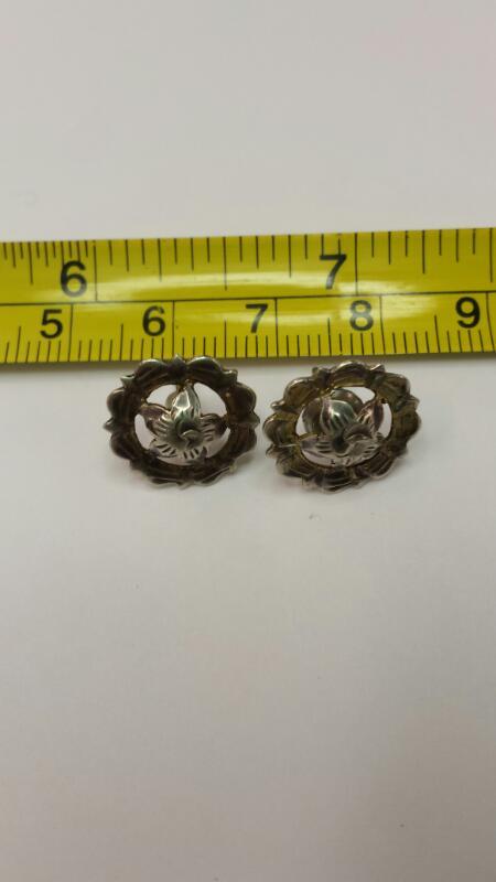 Silver Earrings 925 Silver 1.1dwt