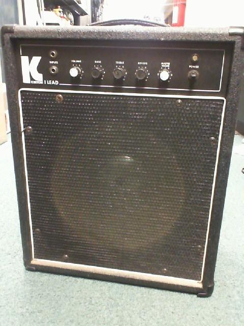KUSTOM Electric Guitar Amp LEAD V