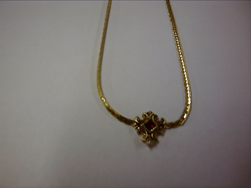 Gold Chain Yellow Gold Electroplate 3.8dwt