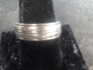 Gent's Ring Silver Titanium 10dwt