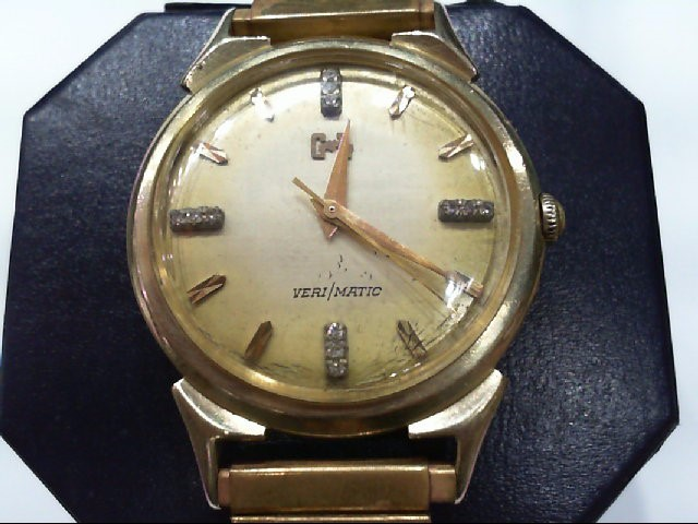 GL VERI/MATIC WATCH 14KT CASE
