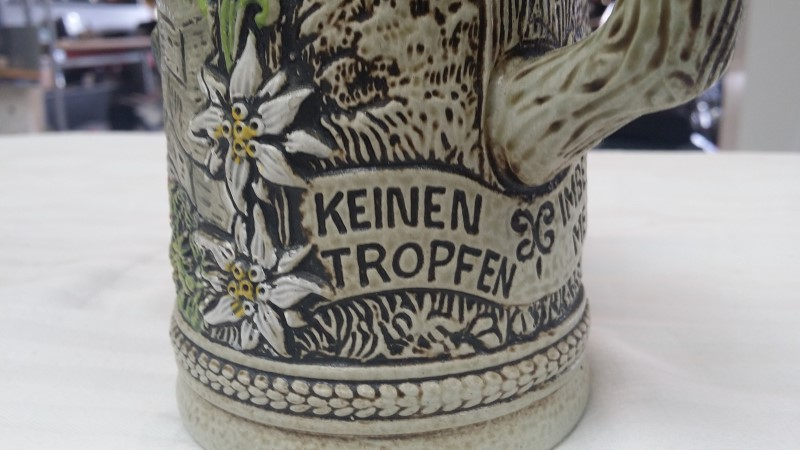 GERZ WEST GERMANY BEER STEIN WITH LID