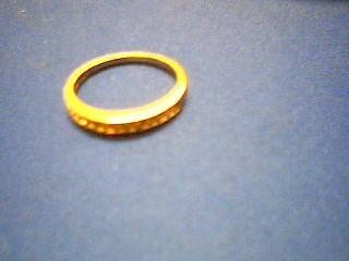 Lady's Gold-Diamond Anniversary Ring 13 Diamonds .052 Carat T.W.