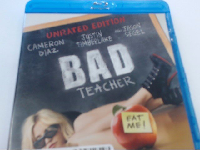 BAD TEACHER - BLU-RAY MOVIE