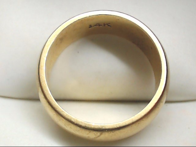 Lady's Gold Wedding Band 14K Yellow Gold 7.1g Size:6