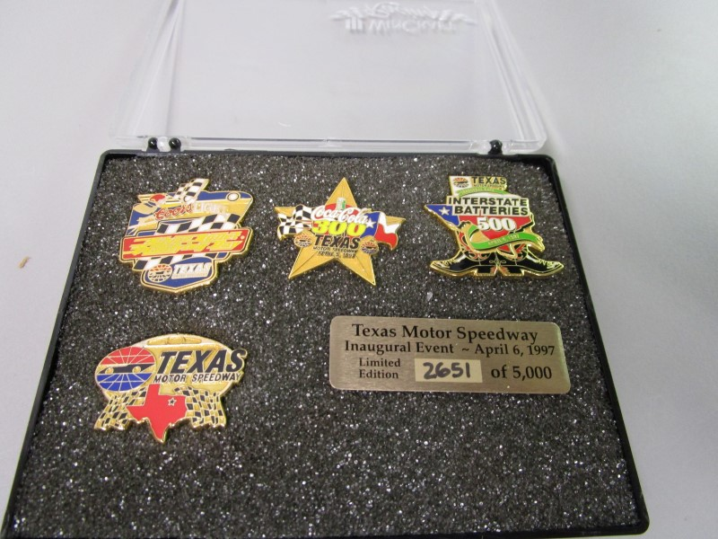 TEXAS MOTOR SPEEDWAY INAUGURAL EVENT - APRIL 6, 1997, #2651 OF 5000, NASCAR RACI