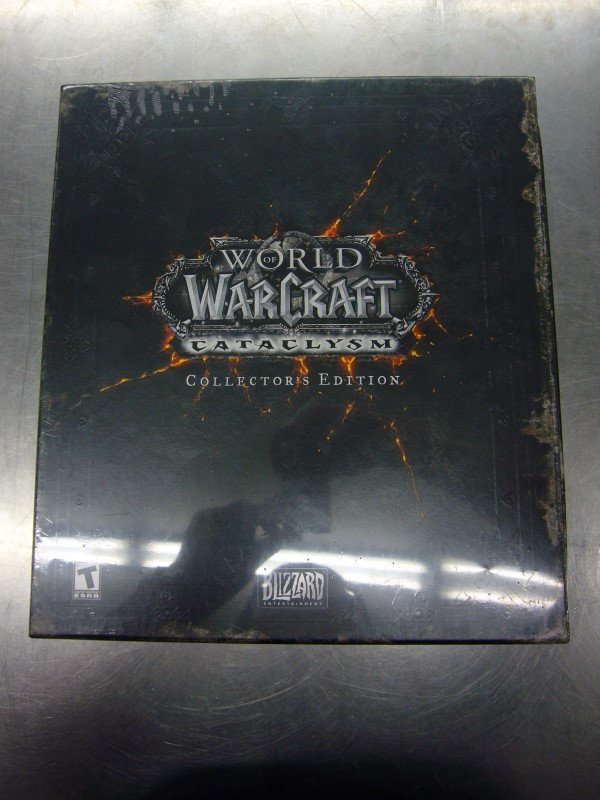 BLIZZARD ENTERTAINMENT PC Game WORLD OF WARCRAFT CATACLYSM COLLECTOR'S EDITION