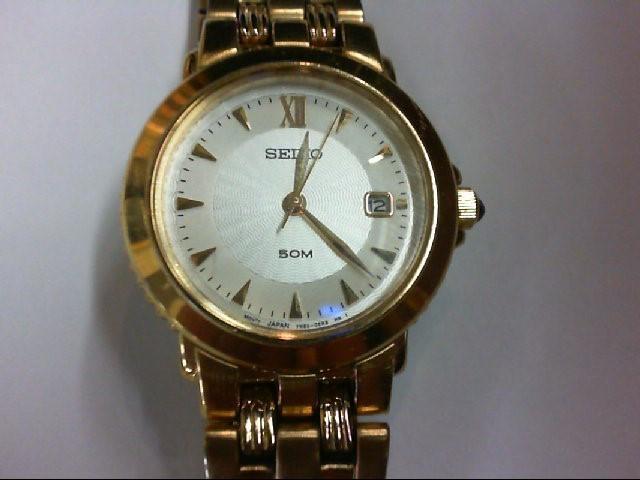 SEIKO Lady's Wristwatch 7N82-0BRO