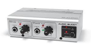 M AUDIO Effect Equipment AUDIO BUDDY DUAL MIC PREAMP/DIRECT BOX